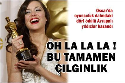 Oscar'da Avrupa zaferi - H�rriyet