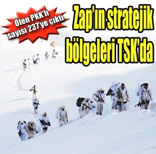 Zap'�n stratejik b�lgeleri TSK'da  G�ncel  Milliyet Gazete