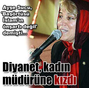 Diyanet kad�n m�d�r�ne k�zd�   T�rkiye  Milliyet �nternet