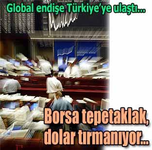 Piyasalarda 'global dalga' s�r�yor  Ekonomi  Milliyet �nternet