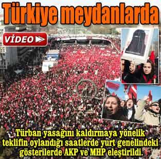 T�rkiye meydanlarda  G�ncel  Milliyet Gazete