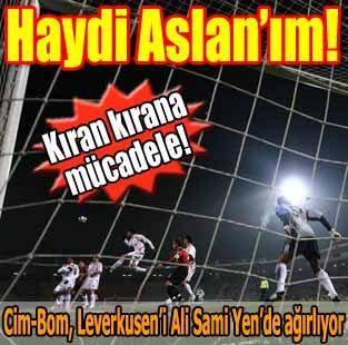 Galatasaray:0 - Bayer Leverkusen:0 (Ma� devam ediyor)  Spor  Milliyet �nternet