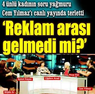 Y�lmaz'� terlettiler  Magazin  Milliyet Gazete