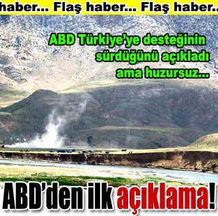 ABD: Hedef PKK ter�ristleri  D�nya  Milliyet �nternet