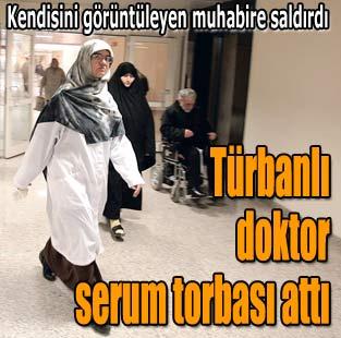 T�rbanl� doktor serum torbas� att�  Siyaset  Milliyet Gazete