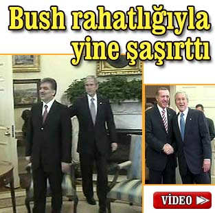Bush'tan �a��rtan hareket  Siyaset  Milliyet �nternet
