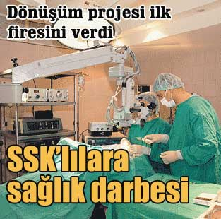 �zel hastaneler SSK'l�lara kapan�yor...  Ekonomi  Milliyet �nternet