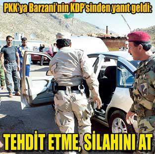 PKK, KDP'yi k�zd�rd�  Siyaset  Milliyet Gazete