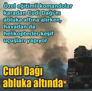 Cudi'de tankl� helikopterli operasyon  T�rkiye  Milliyet �nternet