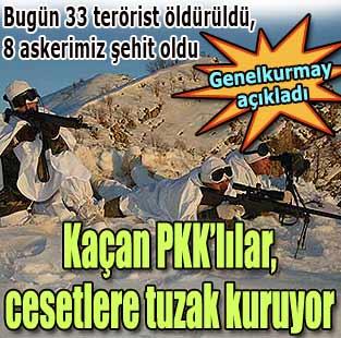 Genelkurmay: 112 ter�rist �ld�r�ld�, 8 askerimiz �ehit oldu  T�rkiye  Milliyet �nternet