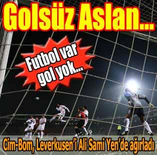 Galatasaray:0 - Bayer Leverkusen:0 (Ma� sonucu)  Spor  Milliyet �nternet