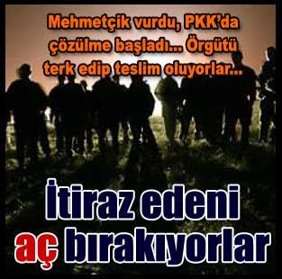 PKK'da ��z�lmeler ba�lad�...  T�rkiye  Milliyet �nternet