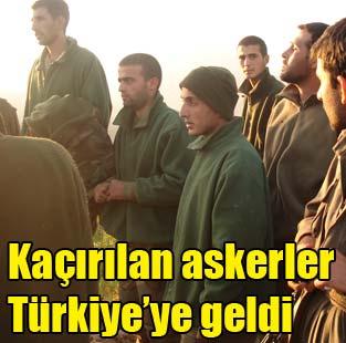 Ka��r�lan T�rk askerler bug�n serbest b�rak�ld�  T�rkiye  Milliyet �nternet