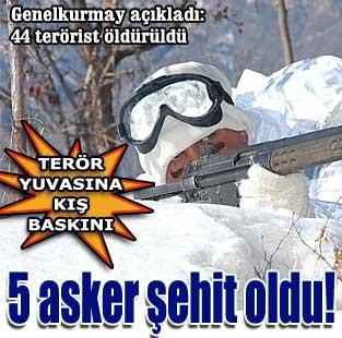10 bin askerle k�� temizli�i  G�ncel  Milliyet Gazete