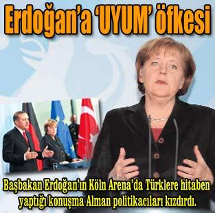 Almanya'dan Erdo�an'a tepki  Siyaset  Milliyet Gazete