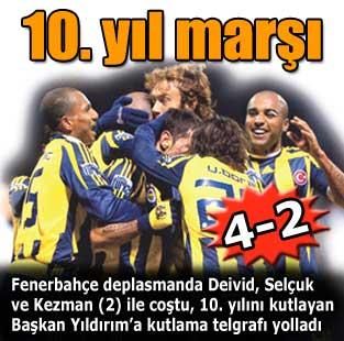 10. y�l mar��  Spor  Milliyet Gazete