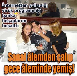 Sanal �lemden �al�p gece �leminde yemi�!  Ya�am  Milliyet Gazete
