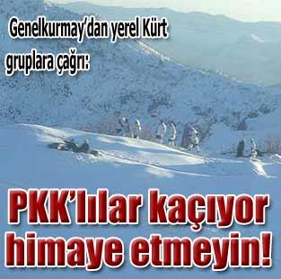 Yerel K�rt gruplar PKK'y� himaye etmesin  G�ncel  Milliyet Gazete