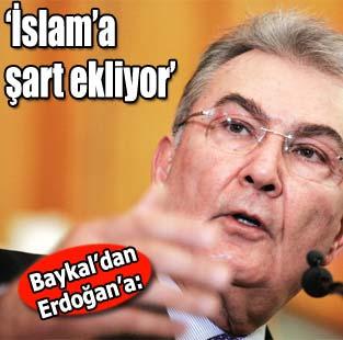 Baykal: Ba�bakan �slam'a �art ekliyor  Yazarlar  Milliyet Gazete