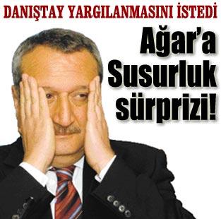 A�ar, Susurluk'tan yarg�lanacak  G�ncel  Milliyet Gazete