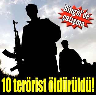 10 PKK'l� �ld�r�ld�  G�ncel  Milliyet Gazete