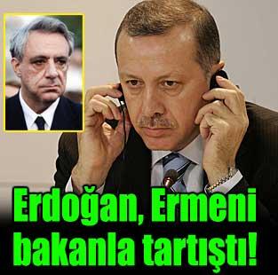 Ermeni bakanla tart��t�  D�nya  Milliyet Gazete