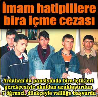 �mam hatiplilere bira i�me cezas�  Siyaset  Milliyet Gazete