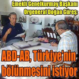 ABD-AB, T�rkiye'nin b�l�nmesini istiyor  Yazarlar  Milliyet Gazete