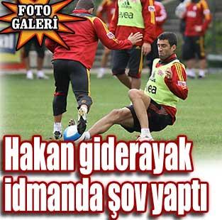 Galatasaray'da Hakan �ov yapt�, Arda sakatland�  Spor  Milliyet �nternet
