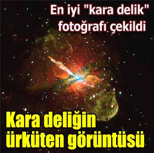 En iyi ''kara delik'' foto�raf� �ekildi  Ya�am  Milliyet �nternet