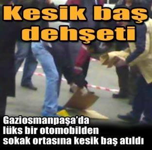 Kesik ba� deh�eti  Ya�am  Milliyet Gazete