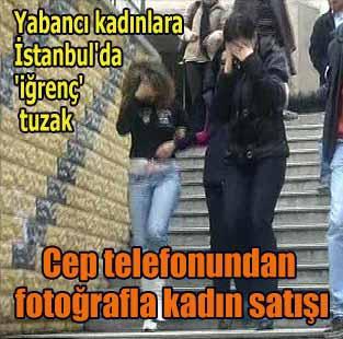 Cep telefonundan foto�rafla kad�n sat���   T�rkiye  Milliyet �nternet