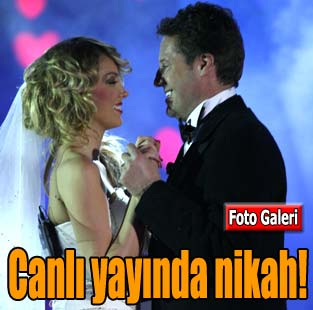 Beyaz Show'da s�rpriz nik�h  Magazin  Milliyet Gazete