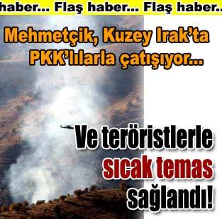 T�rk askeri Kuzey Irak'ta PKK ile �at���yor  T�rkiye  Milliyet �nternet