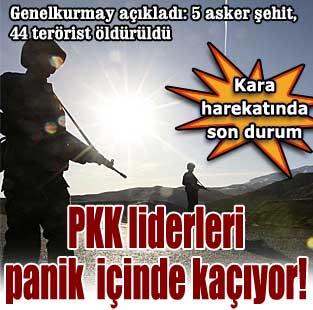 PKK y�netim kadrosu panik i�inde ka��yor  T�rkiye  Milliyet �nternet